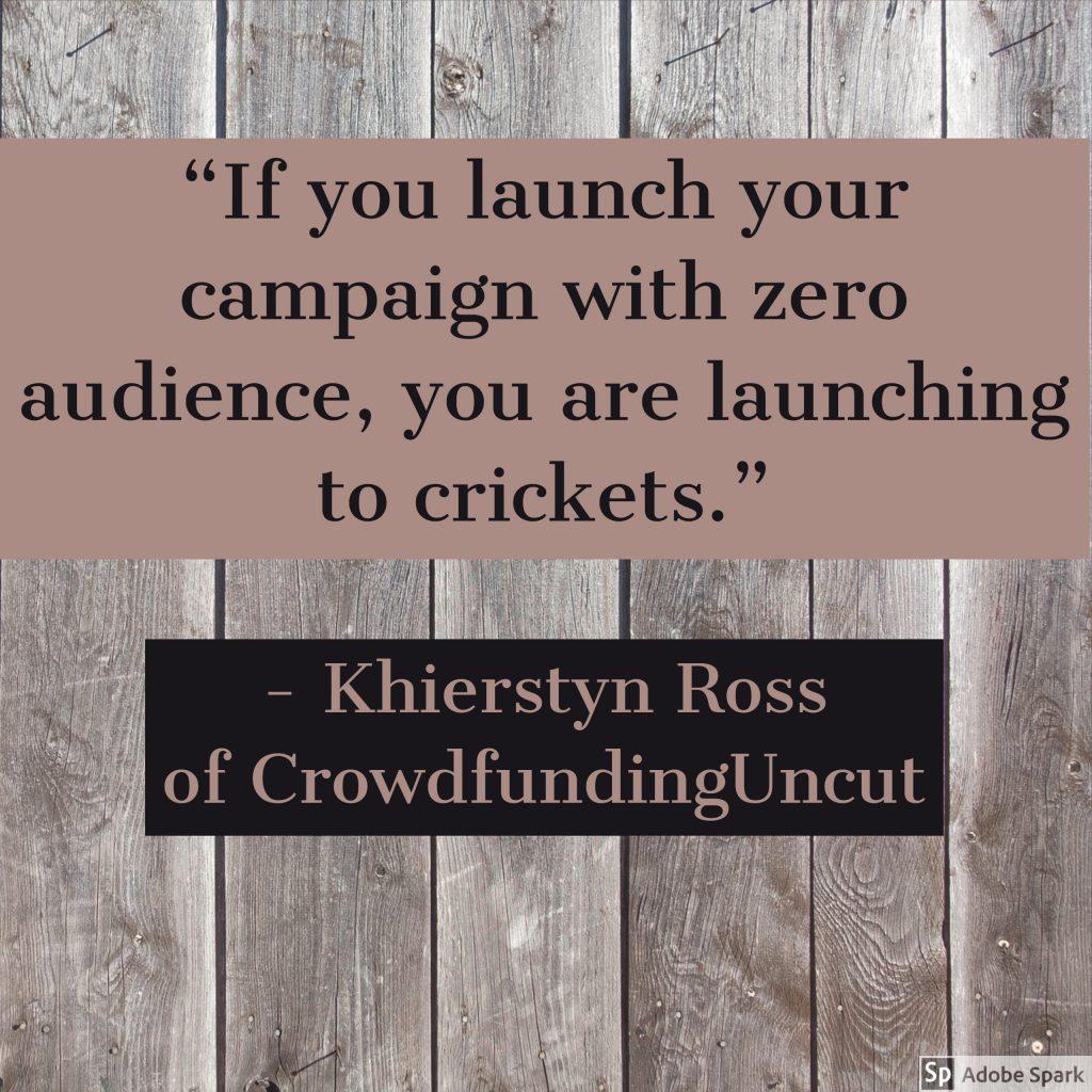Khierstyn Ross of CrowdfundingUncut