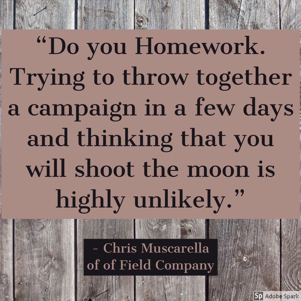 Chris Muscarella of Field Company