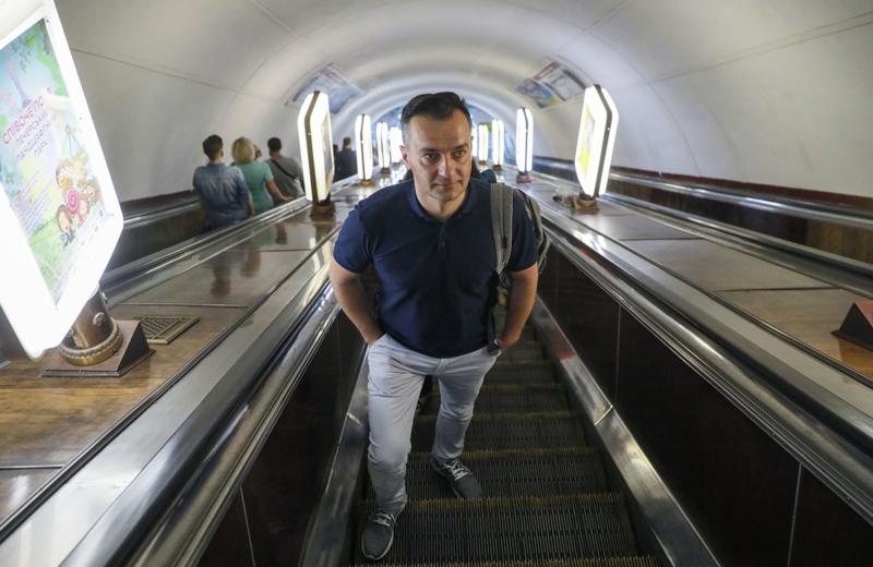 Dmytro Gnap, former Ukrainian Journalist
