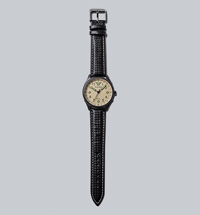 graphene coated field watches by Arcadia Watches